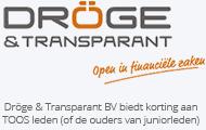 Dröge & transparant
